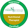 Nutrirional Therapist - Approved Certified