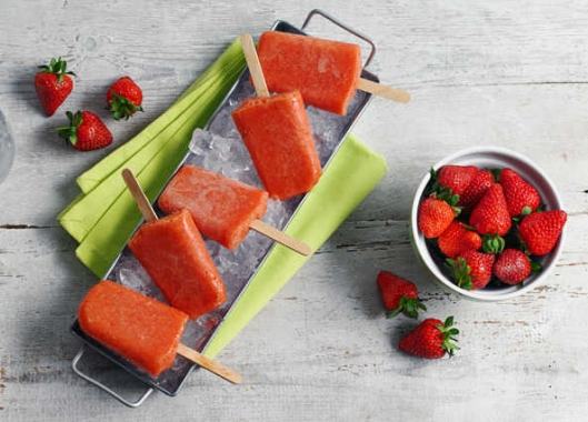 Homemade Fruit Ice Lollies