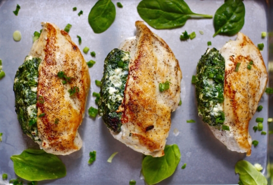 Loaded Chicken Breasts