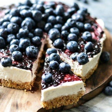 Raw Lemon Cheesecake