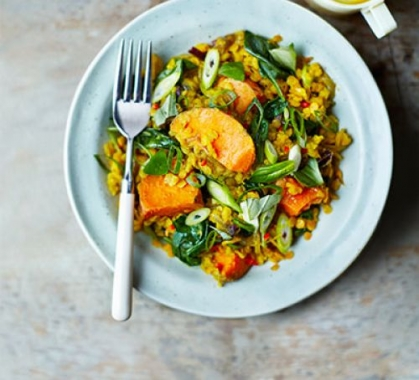 Coconut and Green Lentil Dahl
