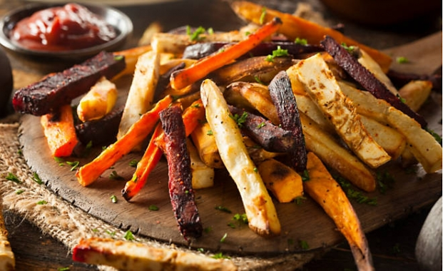 Roasted Veggie Fries